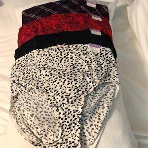 New Lane  Bryant panties  /4 pair /NWT